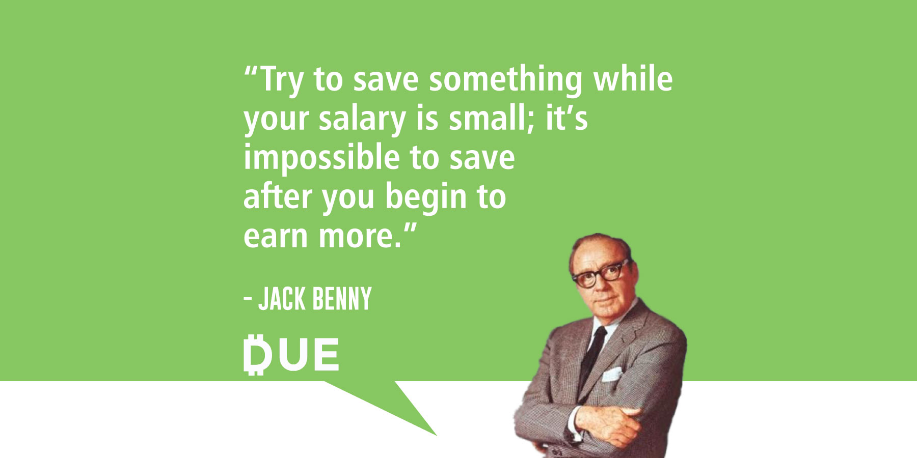 Jack Benny - Saving When You Have Nothing