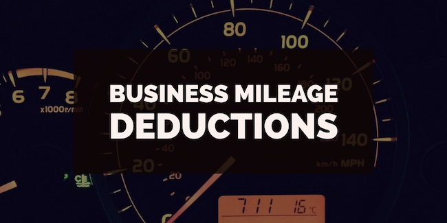 Business Mileage Deductions