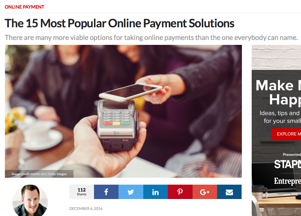 popular online payments systems