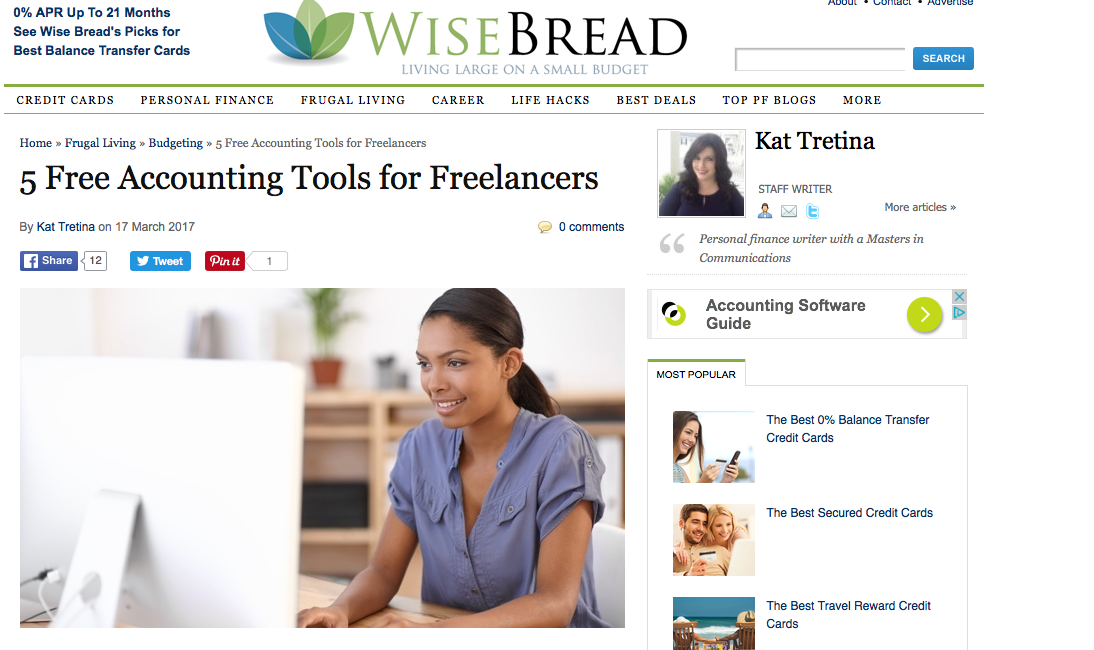 Free Accounting Tools for Freelancers